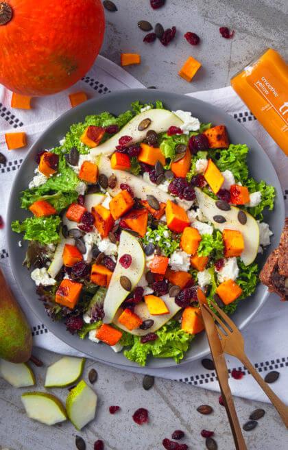 Kuerbis-Knilch-Salat