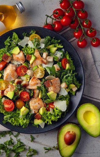 Superfood-Caeser-Salat