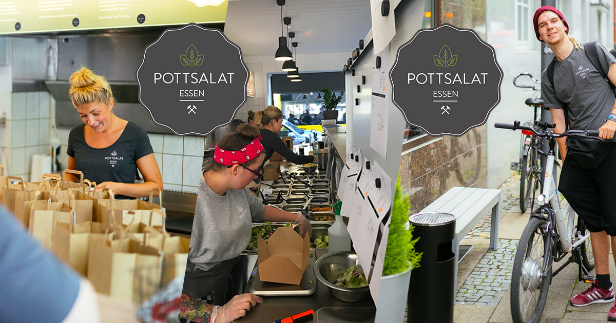 jobs stellenanzeigen offene stellen bei pottsalat in essen. Black Bedroom Furniture Sets. Home Design Ideas