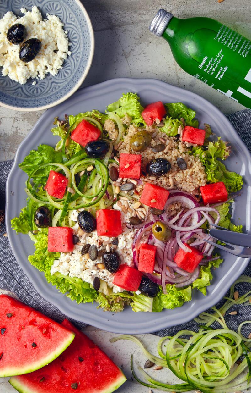 Melonen Mambo - Salat mit Wassermelone