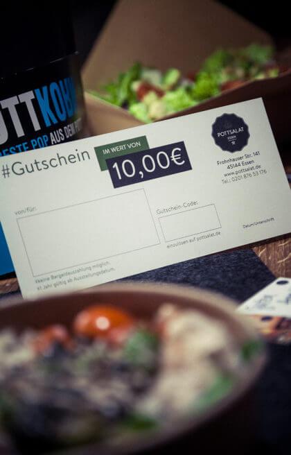 10 Euro Pottsalat Gutschein