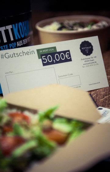 50 Euro Pottsalat Gutschein
