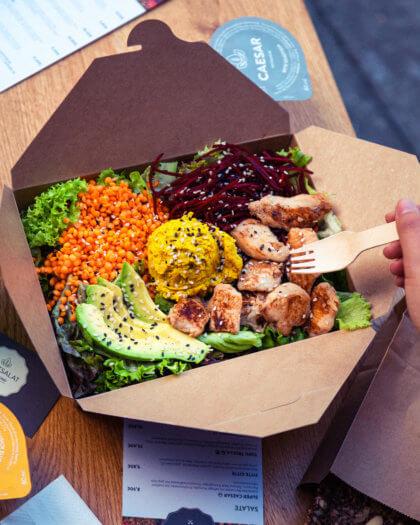 Curry Peitsche Salat