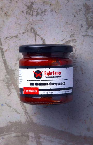 Ruhrfeuer Currysauce für Mädchen