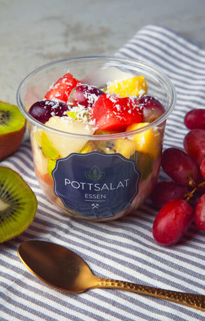 Kleiner Obst Potti