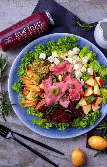Schmackofatz Deluxe Salat