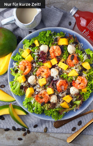 Mango Mäusken Salat