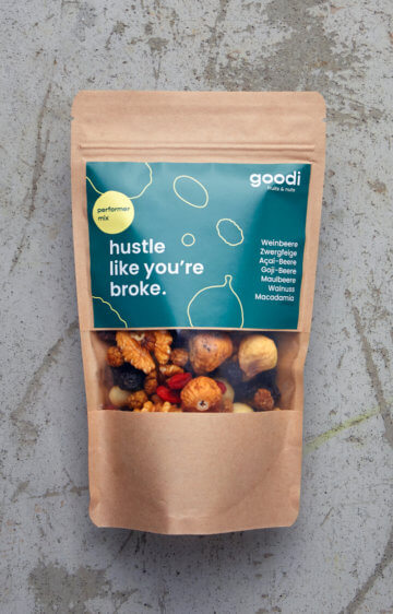 Goodi Performer Nuss-Mix